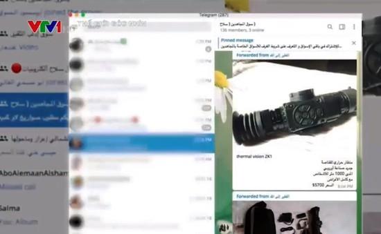 Thị trường súng đạn trực tuyến tại Syria: Mua vũ khí dễ như... mua rau