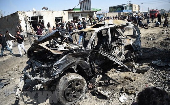 IS thừa nhận tiến hành vụ đánh bom tại thủ đô của Afghanistan
