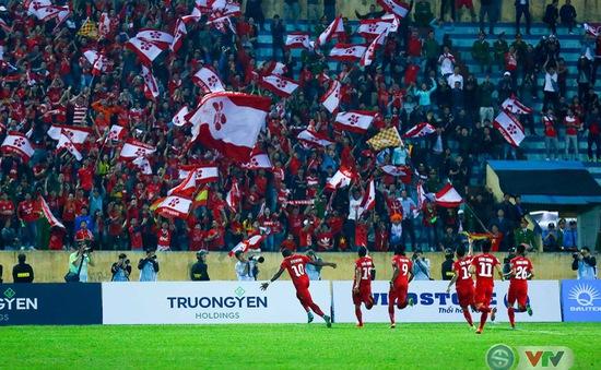 Vòng 3 Nuti Café V.League 2018: CLB Nam Định 0-1  CLB Hải Phòng