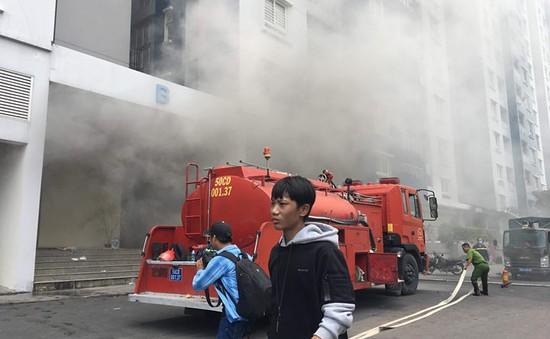 Những cách thoát hiểm ai cũng phải biết khi cháy chung cư cao tầng