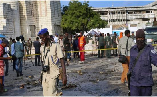 Đánh bom xe gần trụ sở Quốc hội Somalia, ít nhất 2 người thiệt mạng