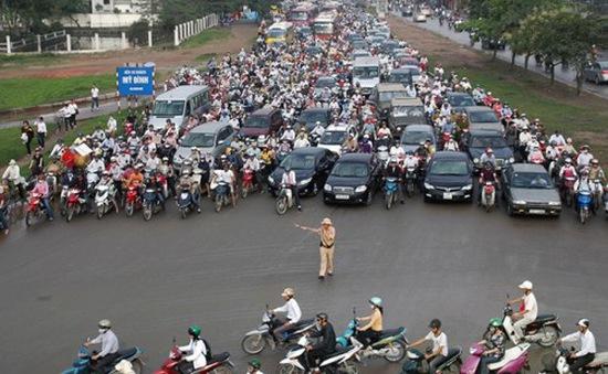 Hà Nội phân luồng giao thông phục vụ 2 hội nghị quốc tế lớn