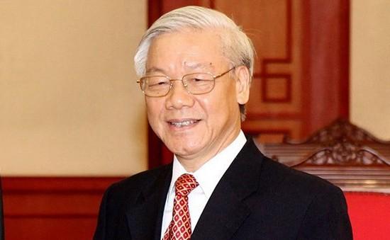 Tổng Bí thư Nguyễn Phú Trọng gửi điện chúc mừng Đảng Nhân dân Campuchia