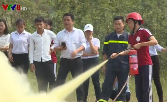 Thừa Thiên Huế tăng cường trang bị kỹ năng phòng cháy chữa cháy cho học sinh