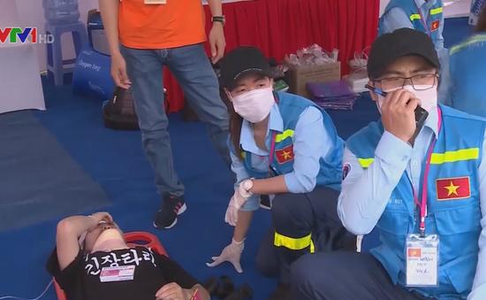 Diễn tập ứng phó về y tế trong thảm họa tại Đà Nẵng