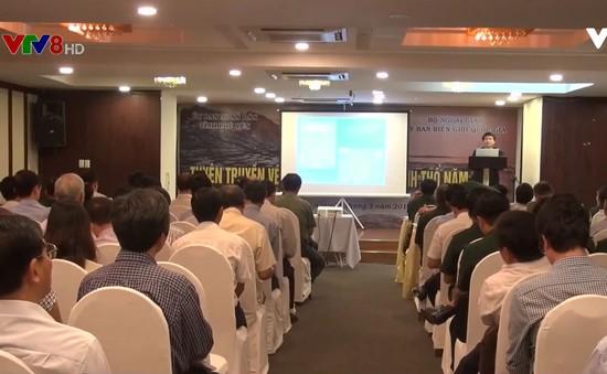 Hội nghị tuyên truyền về công tác biên giới lãnh thổ cho cán bộ chủ chốt các tỉnh Nam Trung Bộ