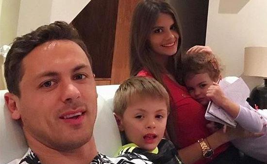 Con trai Matic gia nhập lò đào tạo trẻ Man Utd