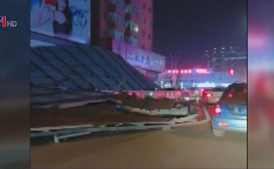 Gió mạnh gây thiệt hại tại Trung Quốc