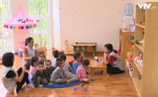 Lớp mẫu giáo độc lập có thể tăng từ 50 lên tối đa 70 em