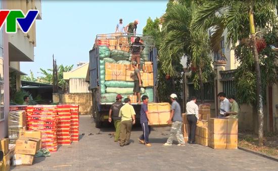 Kon Tum bắt xe tải chở thuốc tân dược không rõ nguồn gốc