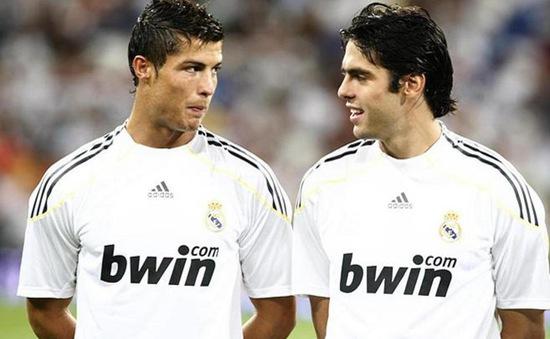 Kaka bất ngờ gạt Ronaldo khỏi danh sách bạn thân ở Real Madrid