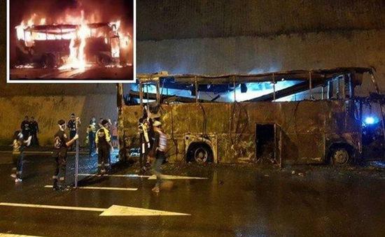 Tai nạn xe bus nghiêm trọng tại Thái Lan, ít nhất 20 người thiệt mạng