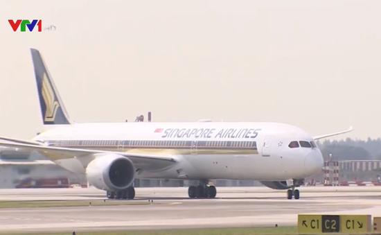 Singapore khai thác Boeing 787-10 đầu tiên trên thế giới