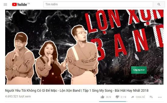 Sing My Song: Loạt ca khúc triệu view của vòng Ghi âm