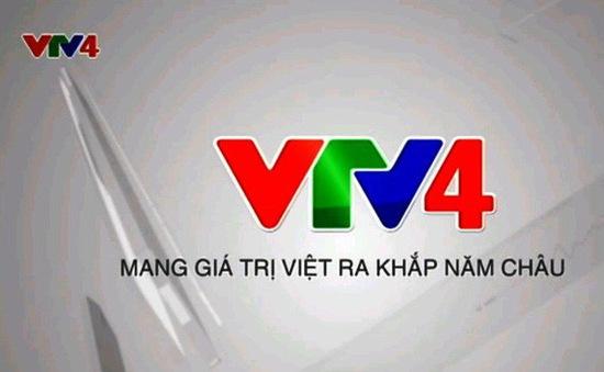 Chính thức ngừng phát sóng vệ tinh nước ngoài kênh VTV4