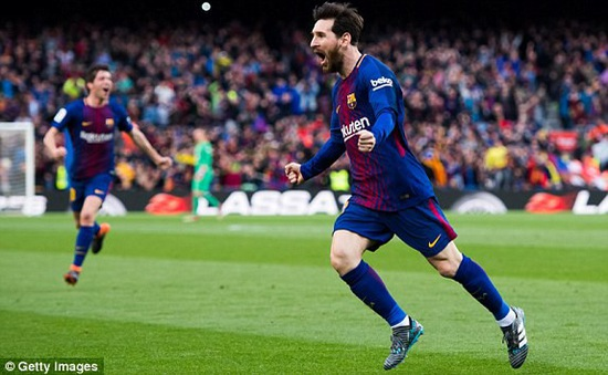 Barcelona 1-0 Atletico Madrid: Messi toả sáng, Barca củng cố ngôi đầu La Liga