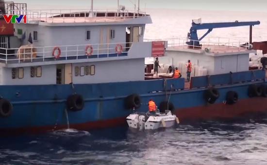 Cảnh sát biển vùng 4 bắt giữ 3 tàu chở dầu trái phép
