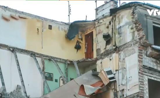 Sập nhà tại Ba Lan, 4 người thiệt mạng