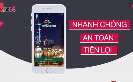 Vinasun đưa vào sử dụng phần mềm đặt xe taxi qua ứng dụng