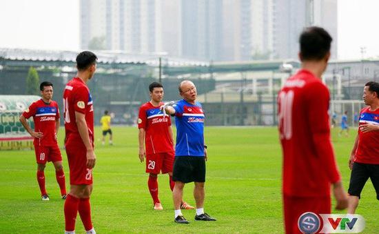 HLV Park Hang Seo sẽ ưu tiên nhiều cầu thủ trẻ U23 Việt Nam cho trận gặp Jordan