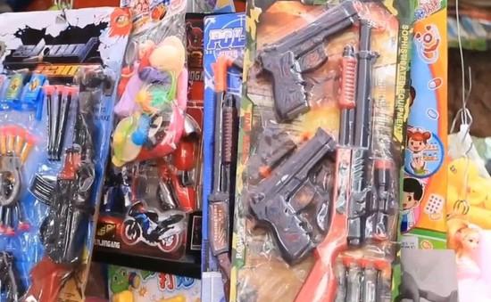 Dễ dàng mua bán các loại đồ chơi bạo lực tại chùa Hương