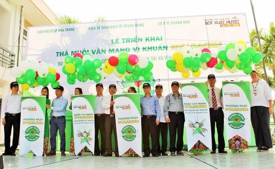 Muỗi vằn Wolbachia phòng sốt xuất huyết lần đầu tiên được thả trên đất liền tại Việt Nam