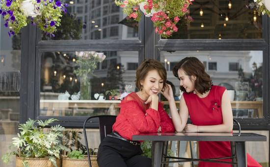 Sao phim Ngược chiều nước mắt xinh đẹp dạo phố cùng MC Thanh Vân Hugo