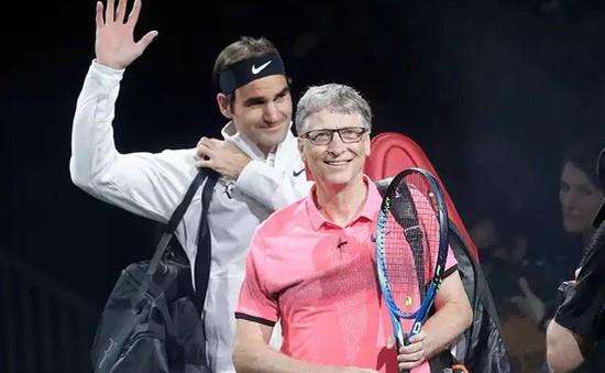 Roger Federer - Bill Gates đánh đôi gây quỹ từ thiện