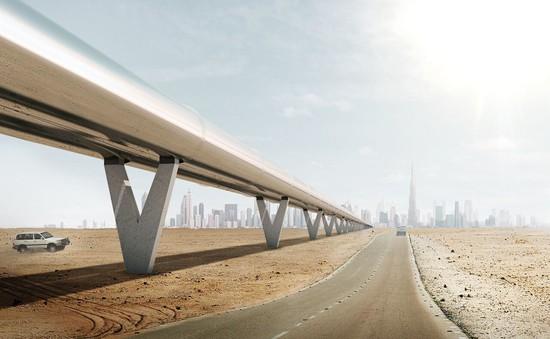"""""""Máy bay trên bộ"""" Hyperloop - Tương lai của ngành vận tải"""