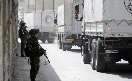 Nga thiết lập hành lang nhân đạo cho phe nổi dậy ở Syria