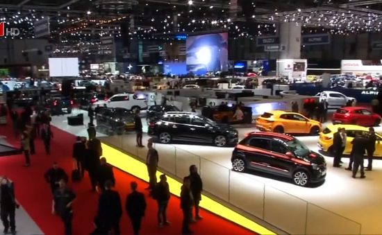 Triển lãm ô tô quốc tế Geneva 2018