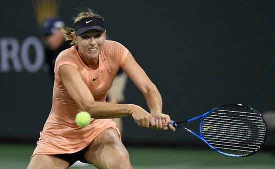Đơn nữ Indian Wells: Sharapova dừng bước ngay ở vòng 1