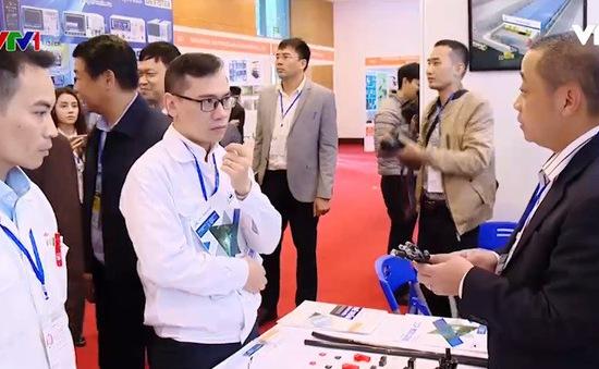 180 gian hàng tham gia hội chợ Triển lãm công nghệ chế tạo Hà Nội