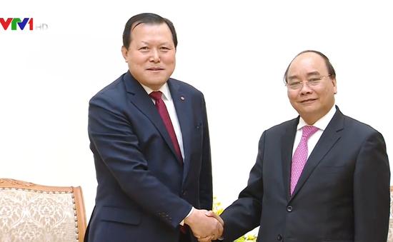 Thủ tướng đề nghị Lotte mở rộng kinh doanh tại Việt Nam