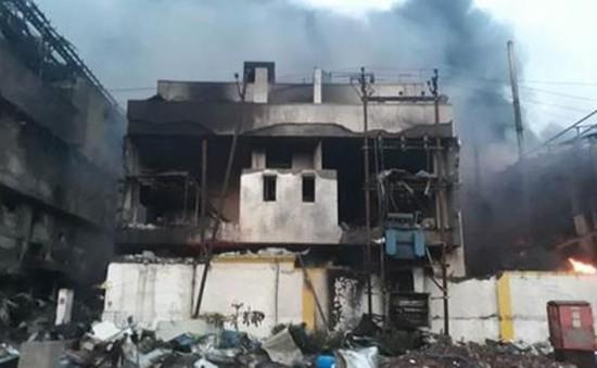 Ấn Độ: Cháy tại khu công nghiệp làm hàng chục người thương vong