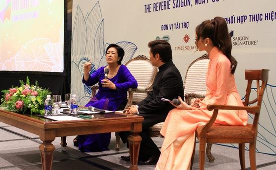Những câu chuyện thú vị về tà áo dài qua lời kể của bà Tôn Nữ Thị Ninh