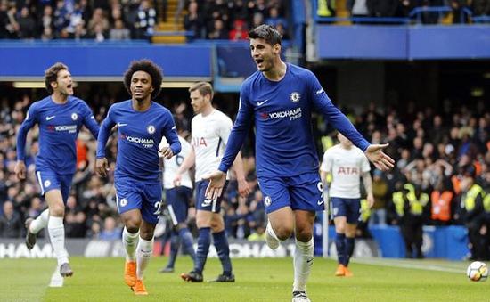 VIDEO Morata ghi bàn thứ 7 bằng đầu, mở tỷ số cho Chelsea