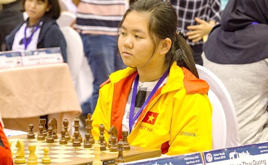 Cờ vua Việt Nam thắng lớn ở giải cờ vua trẻ châu Á