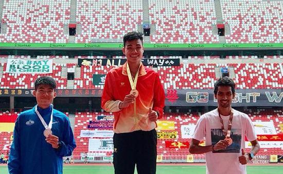 Nguyễn Thị Oanh, Lê Trung Đức giành HCV tại giải Điền kinh Singapore mở rộng