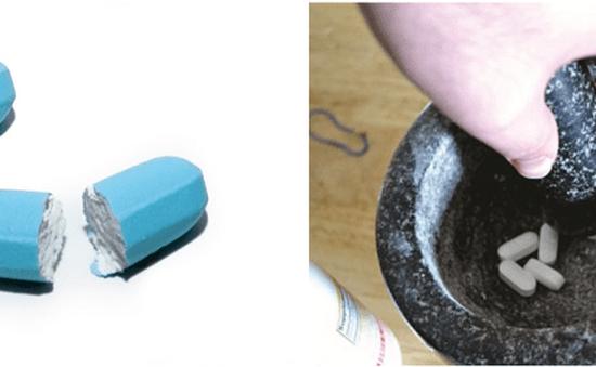 Nghiền, bẻ thuốc để uống – Hại nhiều hơn lợi!