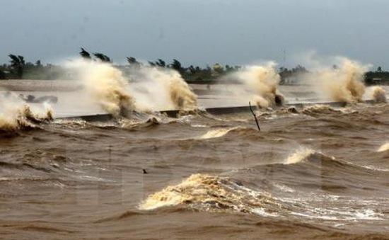 Từ chiều tối 12/4, sóng gió ở vịnh Bắc Bộ mạnh lên