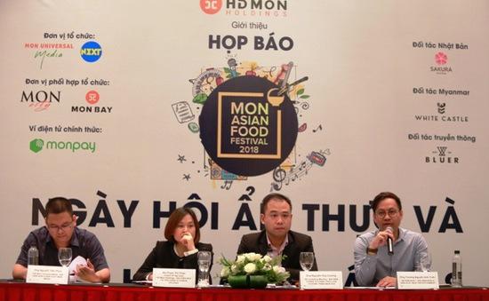 Lần đầu tiên Lễ hội ẩm thực và văn hóa châu Á được tổ chức tại Việt Nam