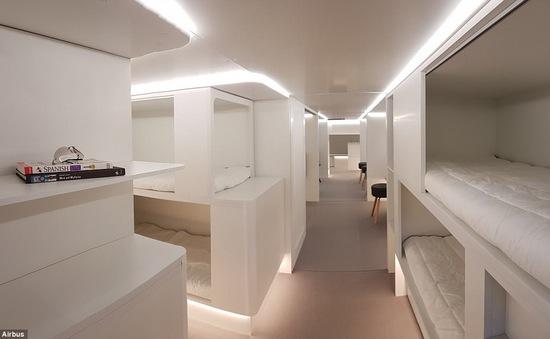 Năm 2020, hành khách đi máy bay sẽ có giường nằm?