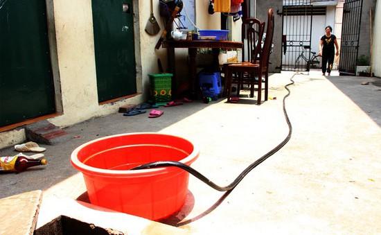 Hơn 200.000 người có nguy cơ thiếu nước sinh hoạt
