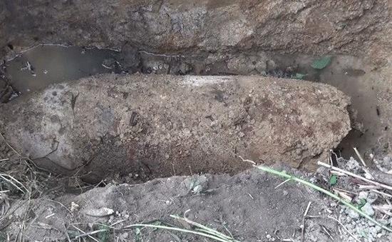 Quảng Trị hủy nổ thành công bom hẹn giờ nặng 340 kg