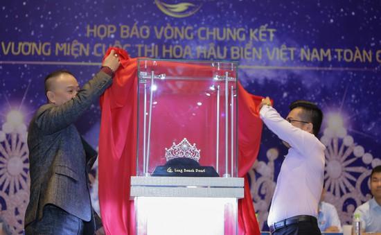 Cận cảnh vương miện đính ngọc trai lấp lánh dành cho Hoa hậu Biển Việt Nam toàn cầu 2018