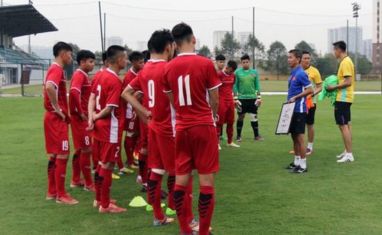 Chuẩn bị cho VCK U19 châu Á 2018, U19 Việt Nam giao hữu với U19 Trung Quốc