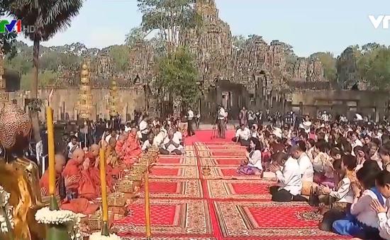 Người dân Campuchia trang trọng đón Tết Chol Chnam Thmay