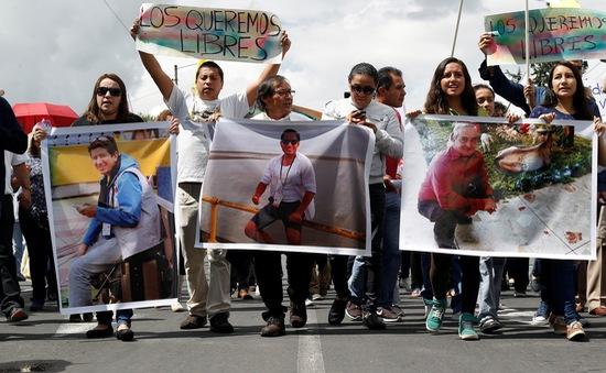 Ecuador xác nhận 3 nhà báo bị sát hại gần biên giới Colombia