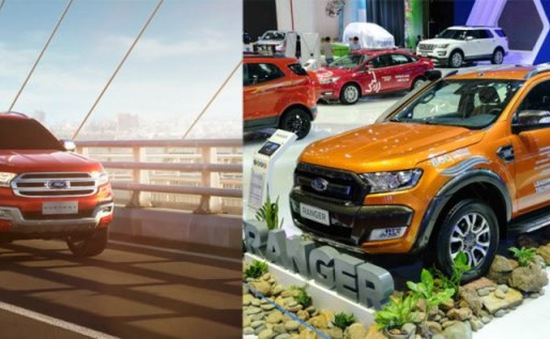 Xe Ford Range và Everest nhập khẩu không đạt tiêu chuẩn kiểm định